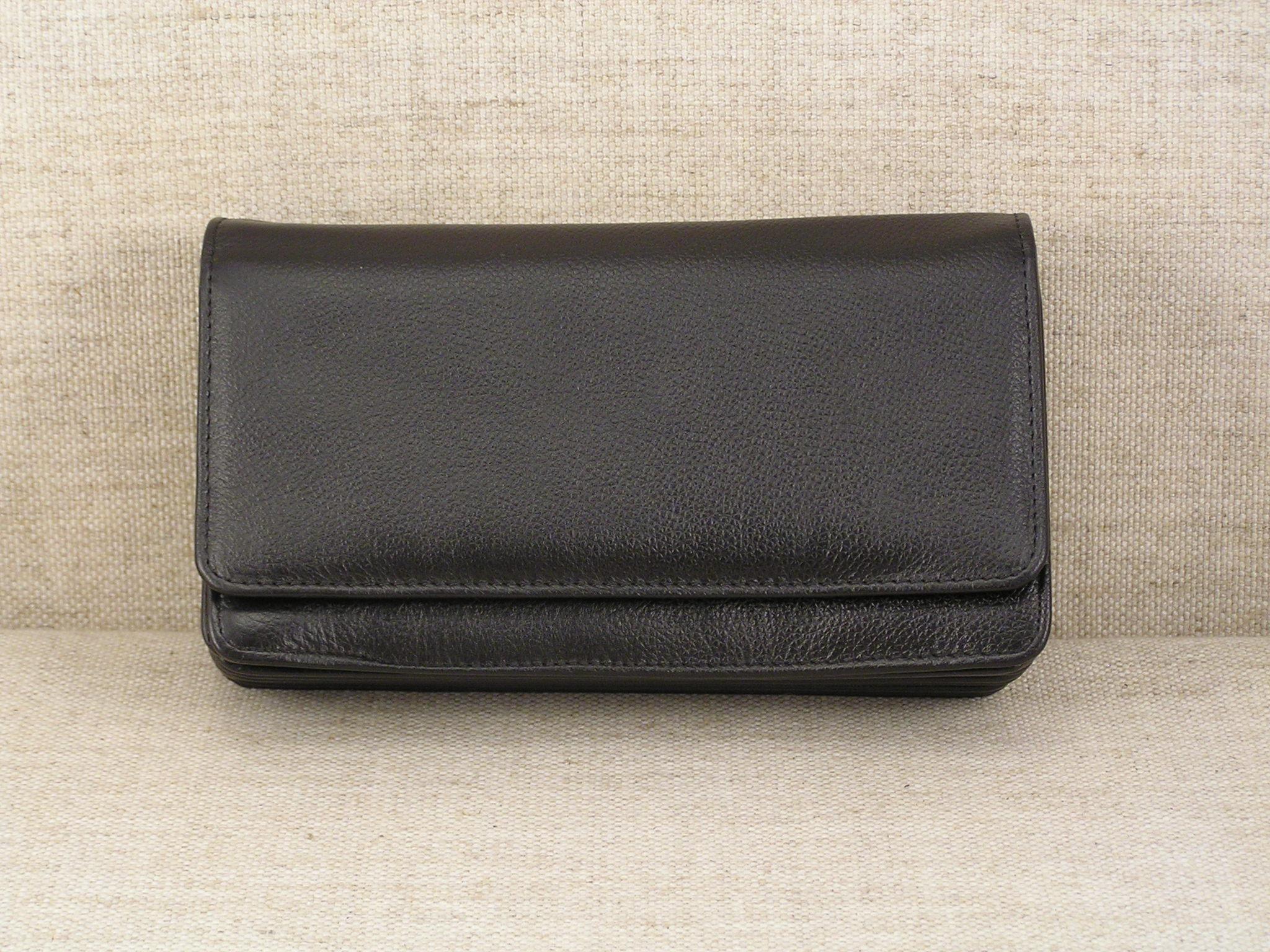 Kožená číšnická peněženka - Harmonika 2401 L