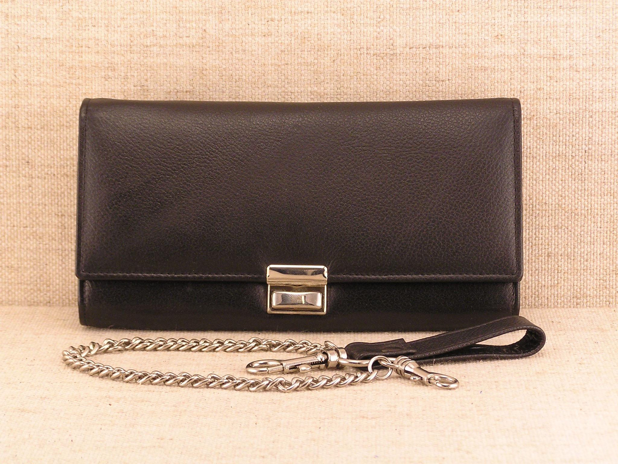 Kožená číšnická peněženka - Sekurity 7401