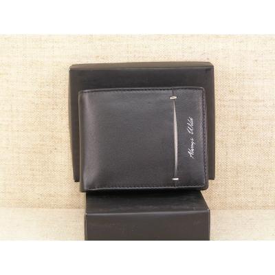 Pánská kožená peněženka Always Wild N992 - SHW černošedá