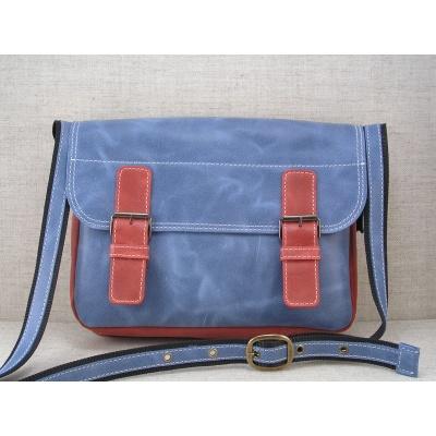 Taška přes rameno vz.445 modro-červená