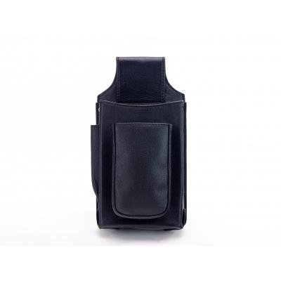 Kožená kapsa na kasírku - černá