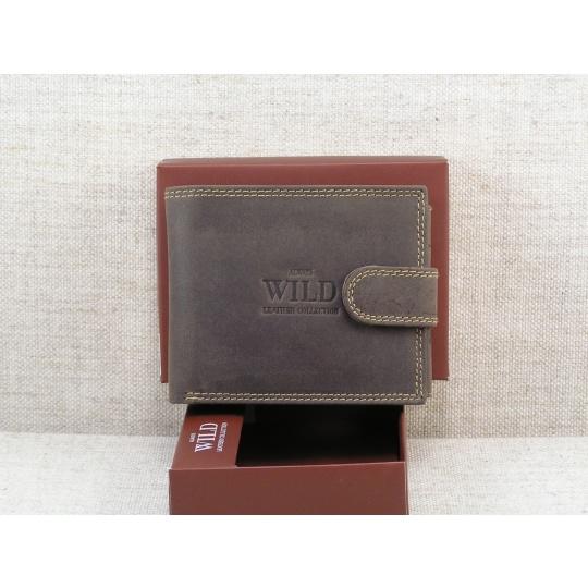 Pánská kožená peněženka Always Wild N992L - hnědá
