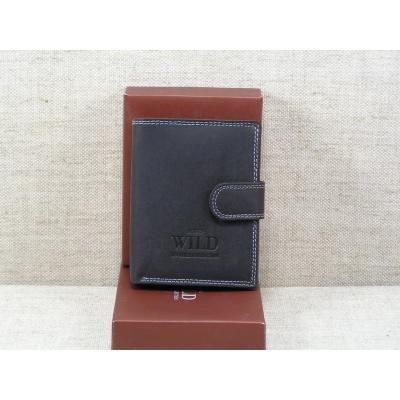 Pánská kožená peněženka Always Wild -N4L-MH černá