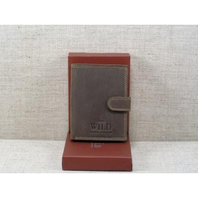 Pánská kožená peněženka Always Wild -N4L-MH hnědá