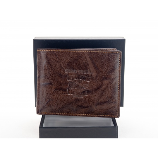 Pánská kožená peněženka Always Wild N992 hnědá