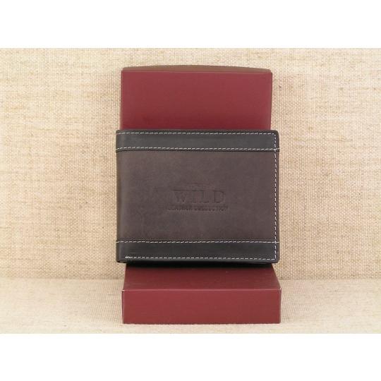 Pánská kožená peněženka Always Wild N992 - DB hnědá