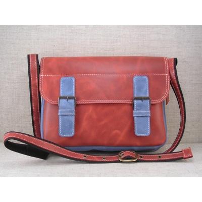 Taška přes rameno vz.445 červeno-modrá