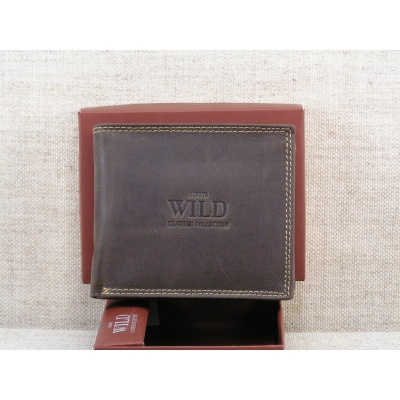 Kožená peněženka Always Wild N992 MH - hnědá