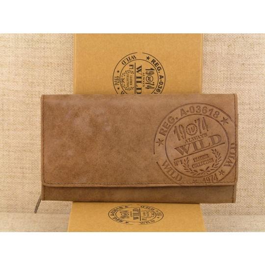 Dámská kožená peněženka Wild 1974- 05TH