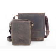 Kožené tašky přes rameno - menší
