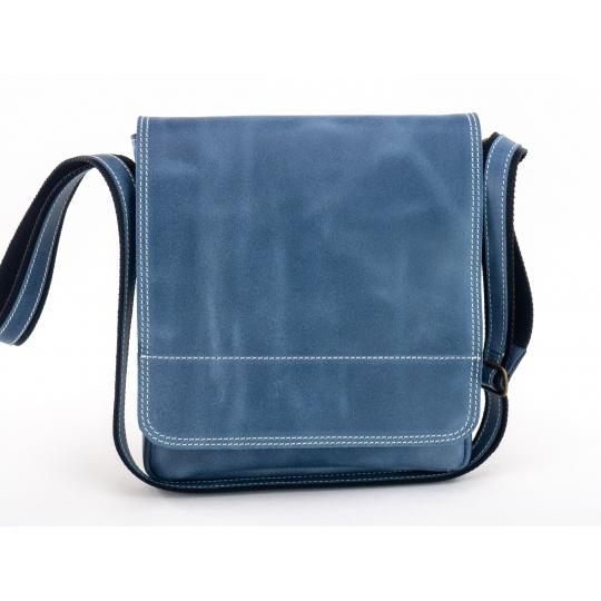 Kožená taška přes rameno