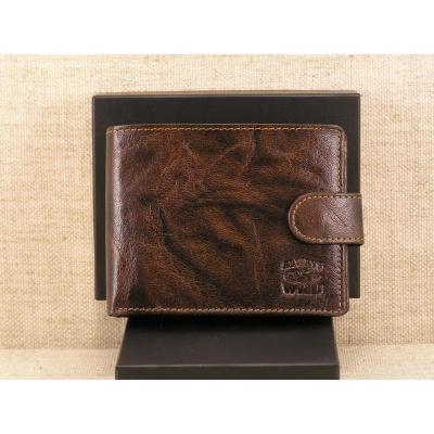 Pánská kožená peněženka Always Wild N992L- BC hnědá