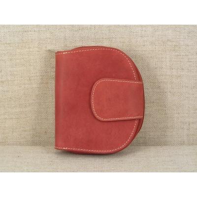 Dámská kožená peněženka 9319 červená