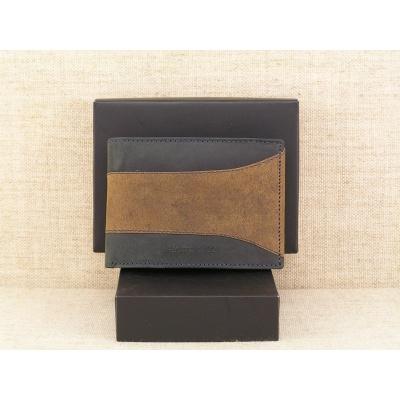 Pánská kožená peněženka Always Wild N992 - SAF černohnědá