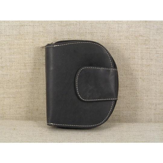 Dámská kožená peněženka 9319 černá