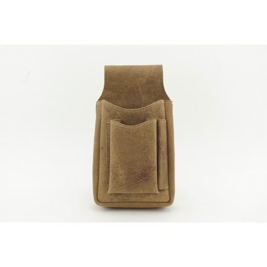Kožená kapsa na kasírku