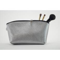 Kosmetická taštička stříbrná