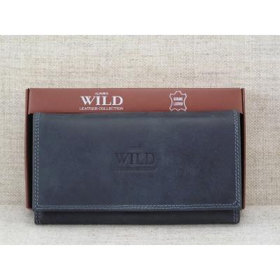 Dámská kožená peněženka vz.N20-MH černá