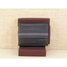 Pánská kožená peněženka Always Wild N992 - SF černošedá