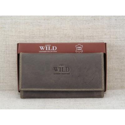 Dámská kožená peněženka vz.N20-MH hnědá