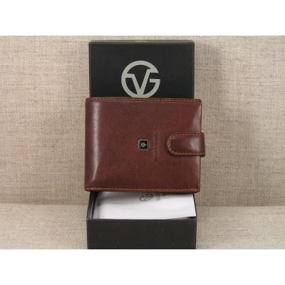 Pánská kožená peněženka 3786-561 hnědá