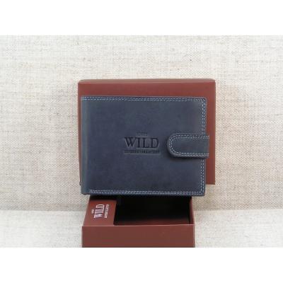 Kožená peněženka Always Wild - černá