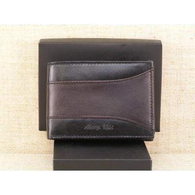 Pánská kožená peněženka Always Wild N992 - SEL černo hnědá