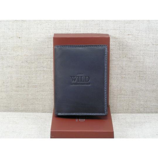 Pánská kožená peněženka Always Wild -N4-MH černá