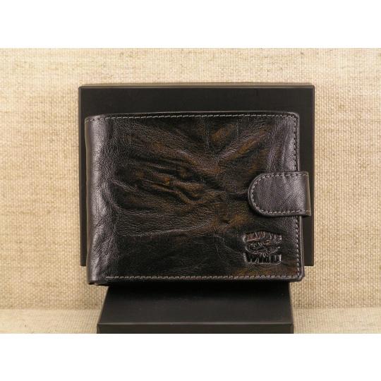Pánská kožená peněženka Always Wild N992L - BC, černá