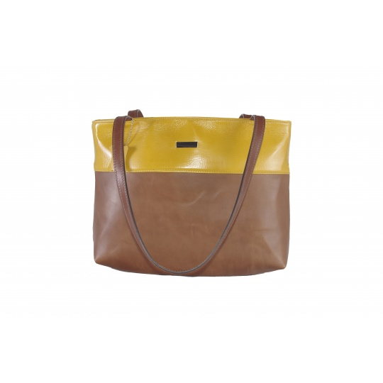 Kožená kabelka Greisi Pigiallo